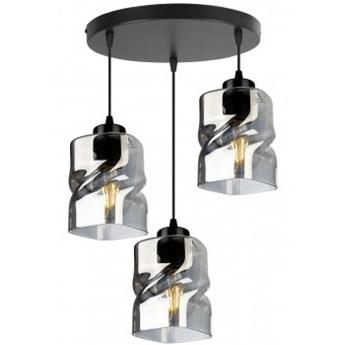 Nowoczesna Lampa Wisząca LED ze Szklanymi Kloszami