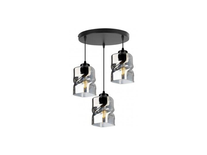 Nowoczesna Lampa Wisząca LED ze Szklanymi Kloszami Lampa LED Kolor Szary Metal Szkło Lampa z kloszem Kategoria Lampy wiszące