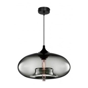 Lampa Wisząca Designerska ze Szklanym Kloszem LED