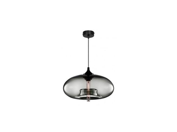 Lampa Wisząca Designerska ze Szklanym Kloszem LED Lampa LED Lampa z kloszem Styl Nowoczesny Metal Szkło Kolor Szary