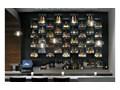 Lampa Wisząca Designerska ze Szklanym Kloszem LED Szkło Lampa LED Ilość źródeł światła 1 źródło Metal Lampa z kloszem Styl Nowoczesny