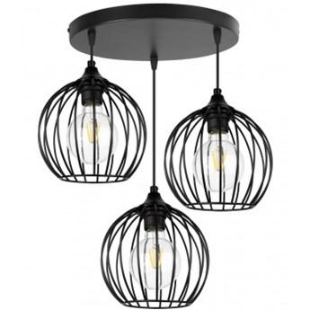 Lampa Wisząca Metalowa Regulowana Loft