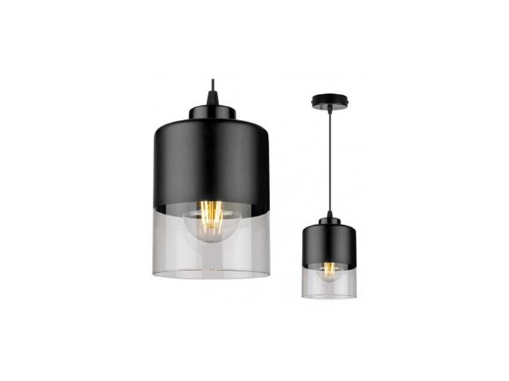 Lampa Wisząca Pojedyncza Nowoczesna z Regulacją Ilość źródeł światła 1 źródło Szkło Lampa LED Metal Lampa z kloszem Kategoria Lampy wiszące
