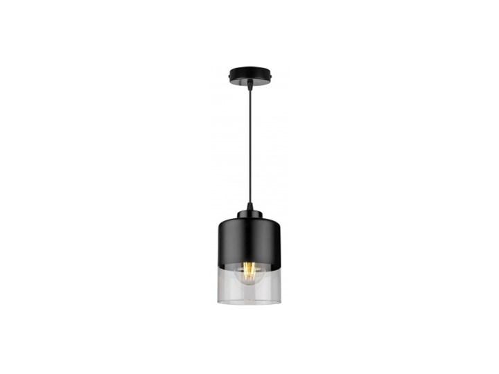 Lampa Wisząca Pojedyncza Nowoczesna z Regulacją Metal Lampa z kloszem Szkło Kolor Szary Lampa LED Ilość źródeł światła 1 źródło