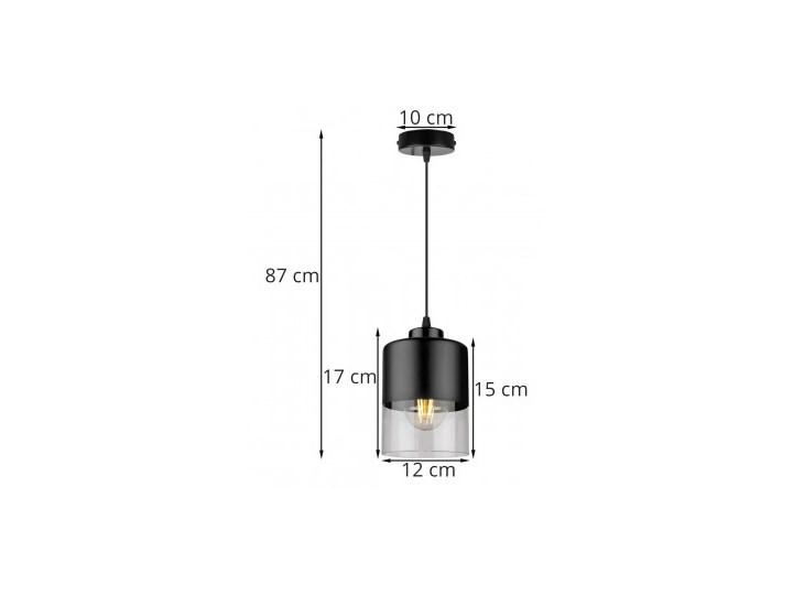 Lampa Wisząca Pojedyncza Nowoczesna z Regulacją Lampa LED Kategoria Lampy wiszące Szkło Metal Lampa z kloszem Styl Nowoczesny