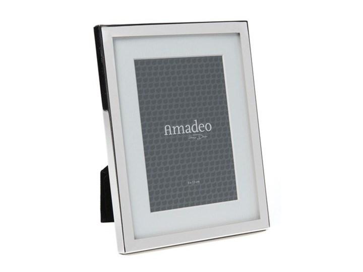 Ramka na zdjęcia Amadeo 13x18cm niklowana szklana