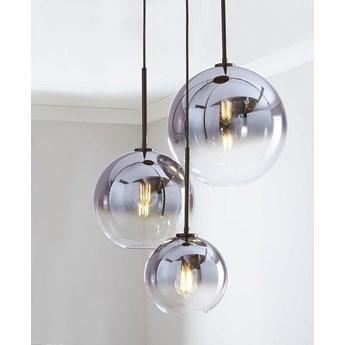 Mirror ball silver - lampa wisząca nowoczesna 30cm