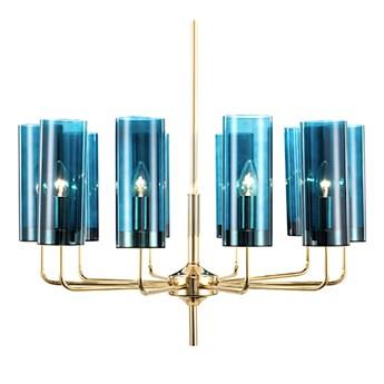 Pipe Organ Wall M Chrome - kinkiet kryształowy 45cm