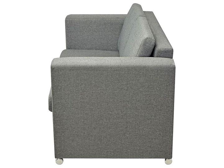 Dwuosobowa jasnoszara sofa loftowa - Sigala 2Q Głębokość 73 cm Kategoria Sofy i kanapy Typ Gładkie