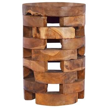 vidaXL Szafka nocna, 30x30x45 cm, lite drewno tekowe