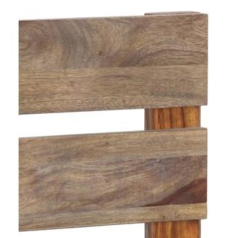 vidaXL Rama łóżka, lite drewno sheesham, 140x200 cm