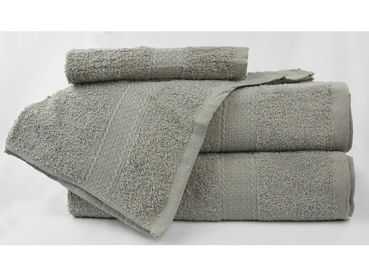 Komplet ręczników bawełnianych MILOU: Kolor - Szary
