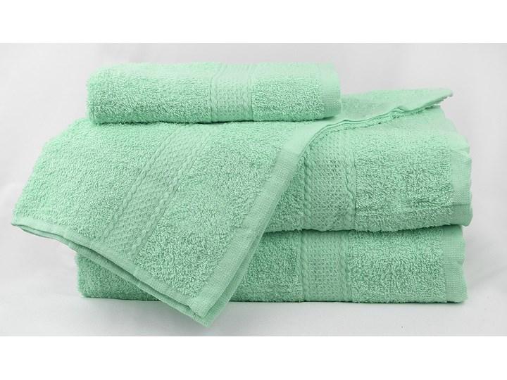 Komplet ręczników bawełnianych MILOU: Kolor - Miętowy