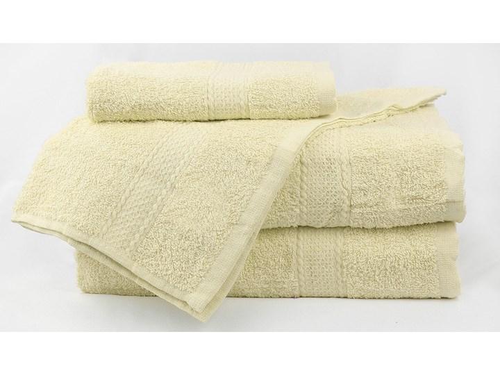 Komplet ręczników bawełnianych MILOU: Kolor - Ecru