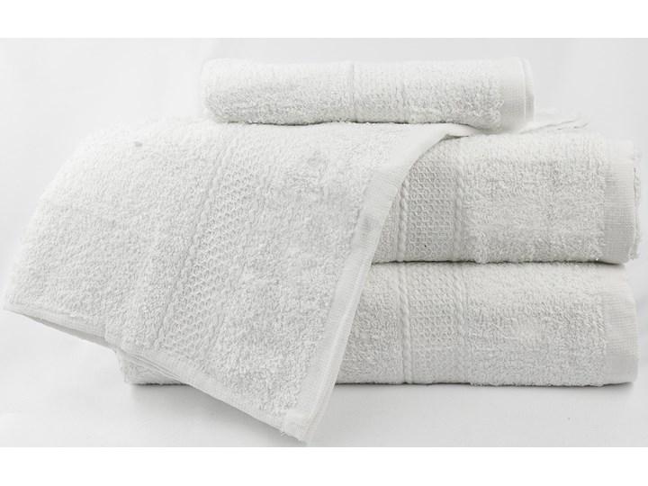 Komplet ręczników bawełnianych MILOU: Kolor - Biały