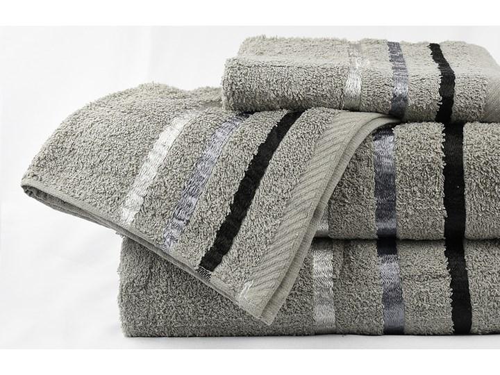 Komplet ręczników bawełnianych CRUZ: Kolor - Szary