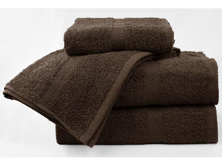 Komplet ręczników bawełnianych MADISON: Kolor - Brązowy Bawełna Kategoria Ręczniki