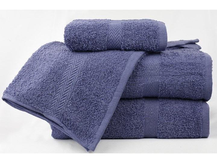 Komplet ręczników bawełnianych MADISON: Kolor - Niebieska lawenda Bawełna Kolor