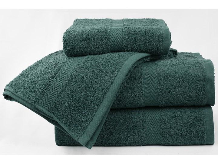 Komplet ręczników bawełnianych MADISON: Kolor - Zielony Bawełna Kategoria Ręczniki