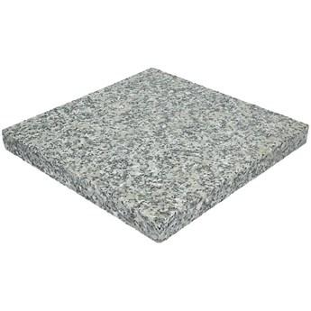 Płyta granitowa tarasowa płomieniowana jasnoszara STRZEGOM (60x60x3)