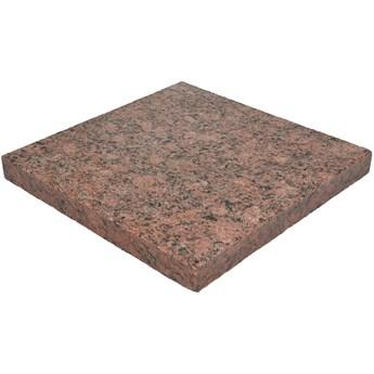 Płyta granitowa tarasowa płomieniowana czerwona VANGA (60x30x3)