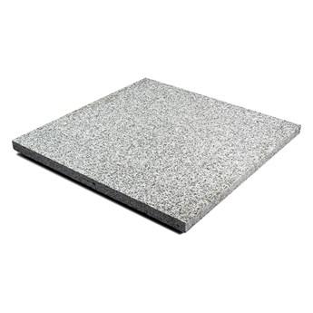 Płyta granitowa tarasowa płomieniowana szara G703 New Bianco Cristal (60x60x3)
