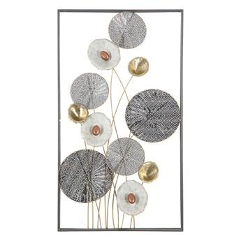 Metalowa dekoracja ścienna Mauro Ferretti Grid, 50x90,5 cm