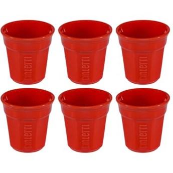 Filiżanka BIALETTI Bicchierini Y0TZ503 Czerwony (6 sztuk)