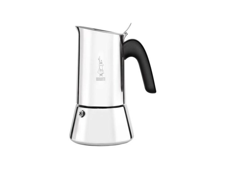 Zestaw prezentowy BIALETTI kawiarka Venus 6 TZ Srebrny + kawa Perfetto Moka Nocciola 200 g Stal Kategoria Kawiarki i kafetery