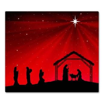 Deska kuchenna Gwiazda Boże Narodzenie Święta