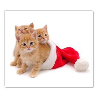 Deska kuchenna Koty Święta Święty mikołaj