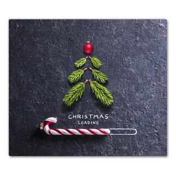 Deska kuchenna Abstrakcja Choinka Święta Zima