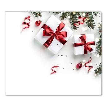 Deska kuchenna Święta Prezenty Ozdoby Gałązki