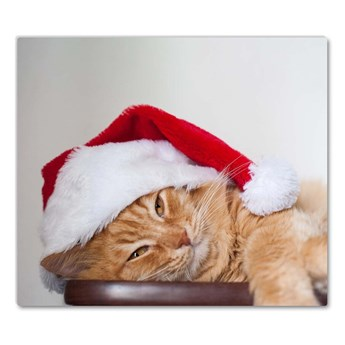 Deska kuchenna Kot Czapka Mikołaja Święta