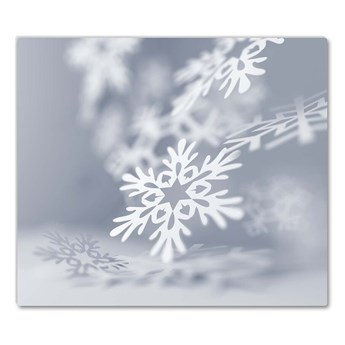 Deska kuchenna Płatek Śniegu Święta Dekoracja