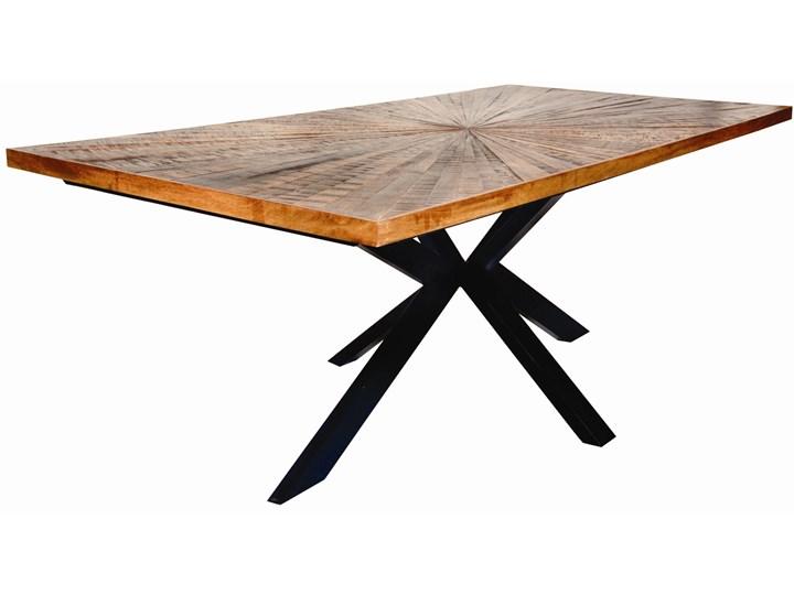 Stół Wood Art 200x100 cm mango - nogi czarne