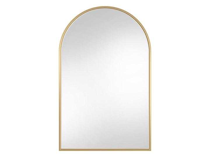 Lustro Portal – złoty łuk Lustro z ramą Nieregularne Pomieszczenie Garderoba Ścienne Styl Skandynawski