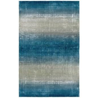 Dywan Carpet Decor Handmade GEOS light blue