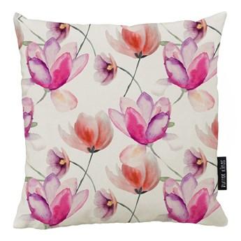 Poduszka Butter Kings z bawełny Pink Tulips, 45x45 cm