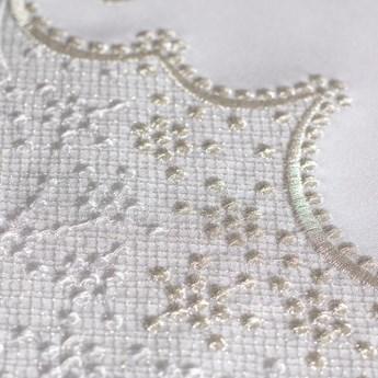 Bieżnik biały GENOVA biały 34 x 140 cm