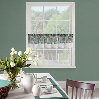 Firanka 30x150 cm Botanic zielono biała kod: 328690