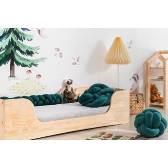 Ciemnozielona poduszka bawełniana 3w1 Adeko