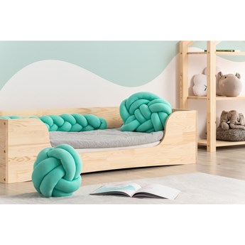 Jasnozielona poduszka bawełniana 3w1 Adeko
