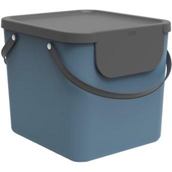 Kosz na śmieci ROTHO 1034406161 Albula 40 L Niebieski