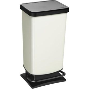 Kosz na śmieci ROTHO Paso 1754110746 40 L Biały