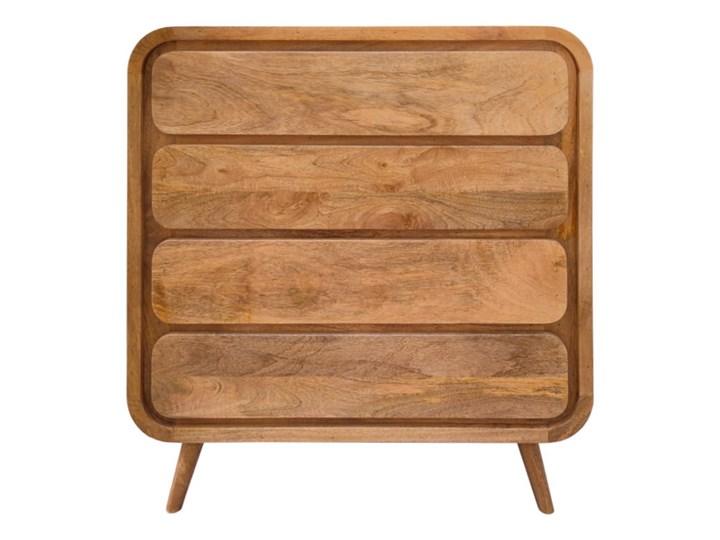 Komoda HANKA (Karmel) Szerokość 85 cm Wysokość 90 cm Drewno Styl Vintage Pomieszczenie Sypialnia