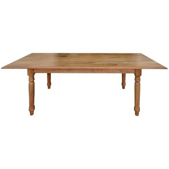 Stół rozkładany FLOTT - 140x80 cm (Karmel)