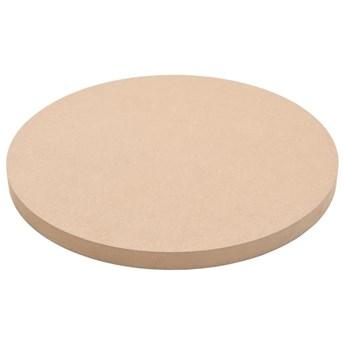 VidaXL Blat stołu, okrągły, MDF, 400 x 18 mm