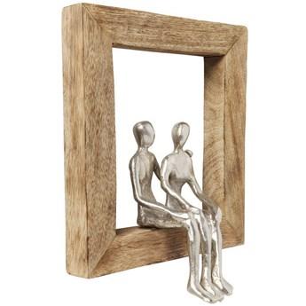 Figurka dekoracyjna Frame Loving Couple 23x30 cm
