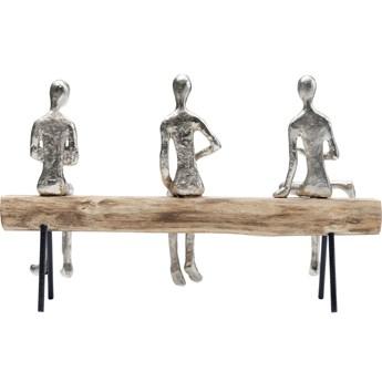 Figurka dekoracyjna Spare Bench 38x24 cm naturalna